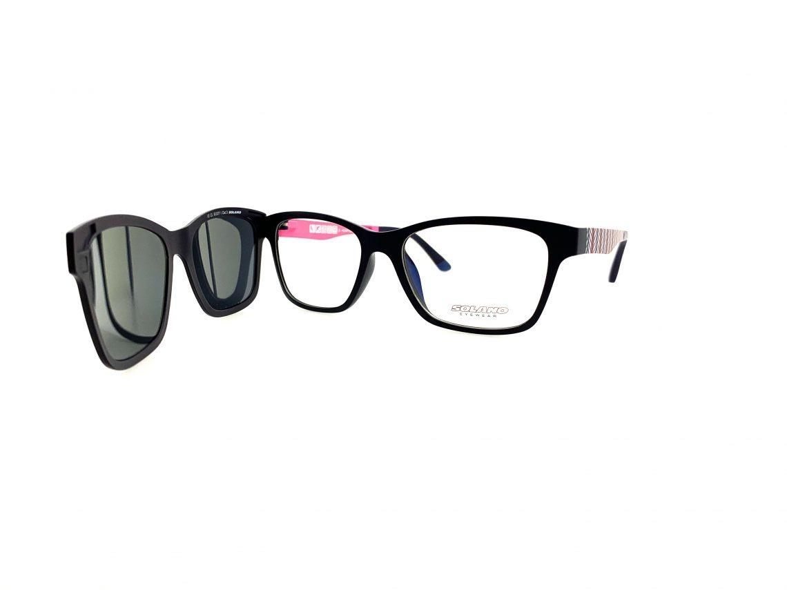 Rama ochelari clip-on Solano CL90007I