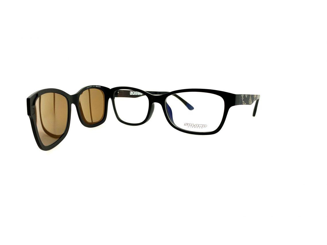 Rama ochelari clip-on Solano CL90006E