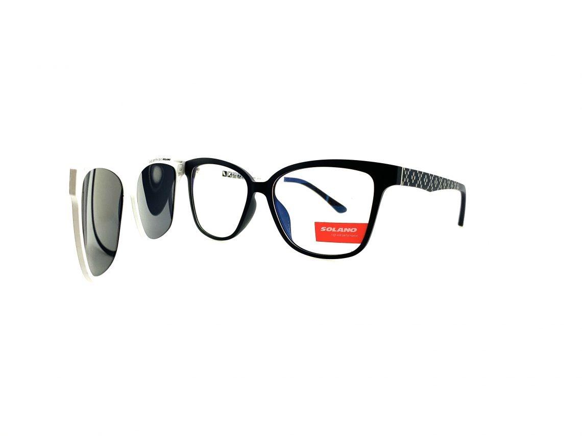 Rama ochelari clip-on Solano CL90078A