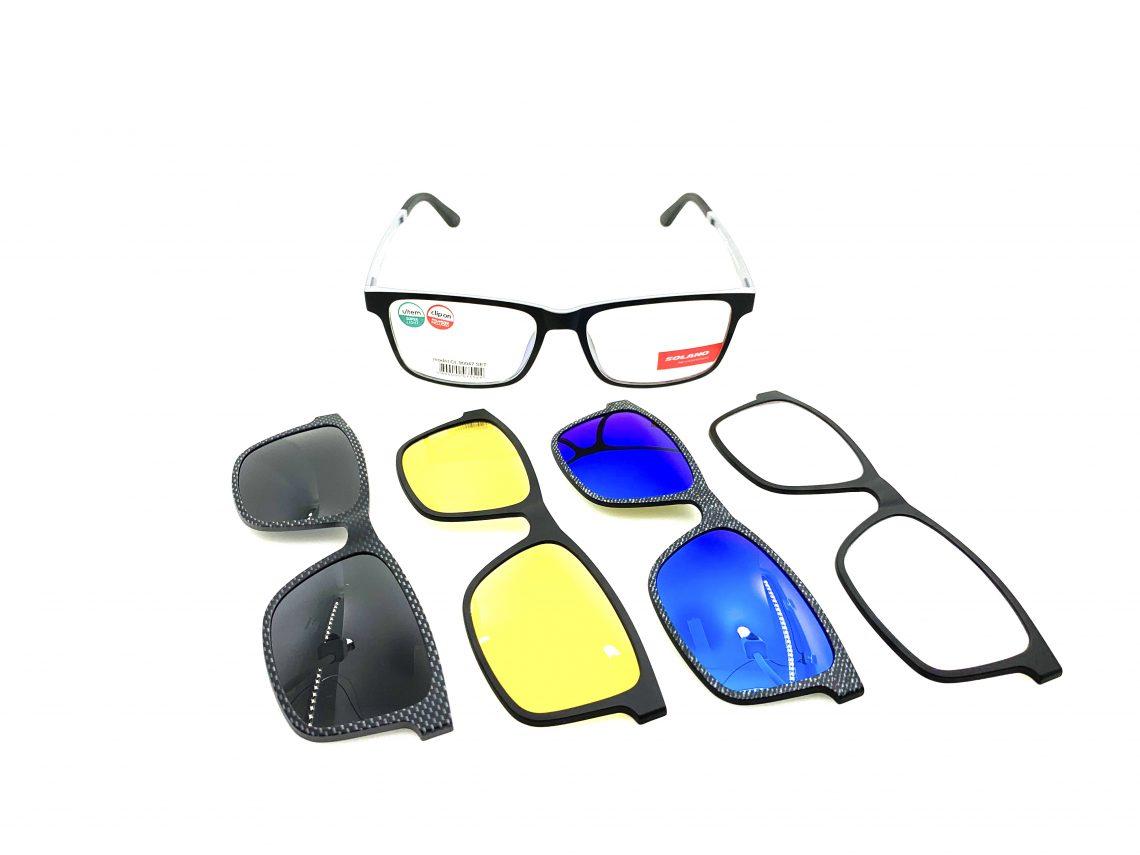 Rama ochelari clip-on CL90047SET