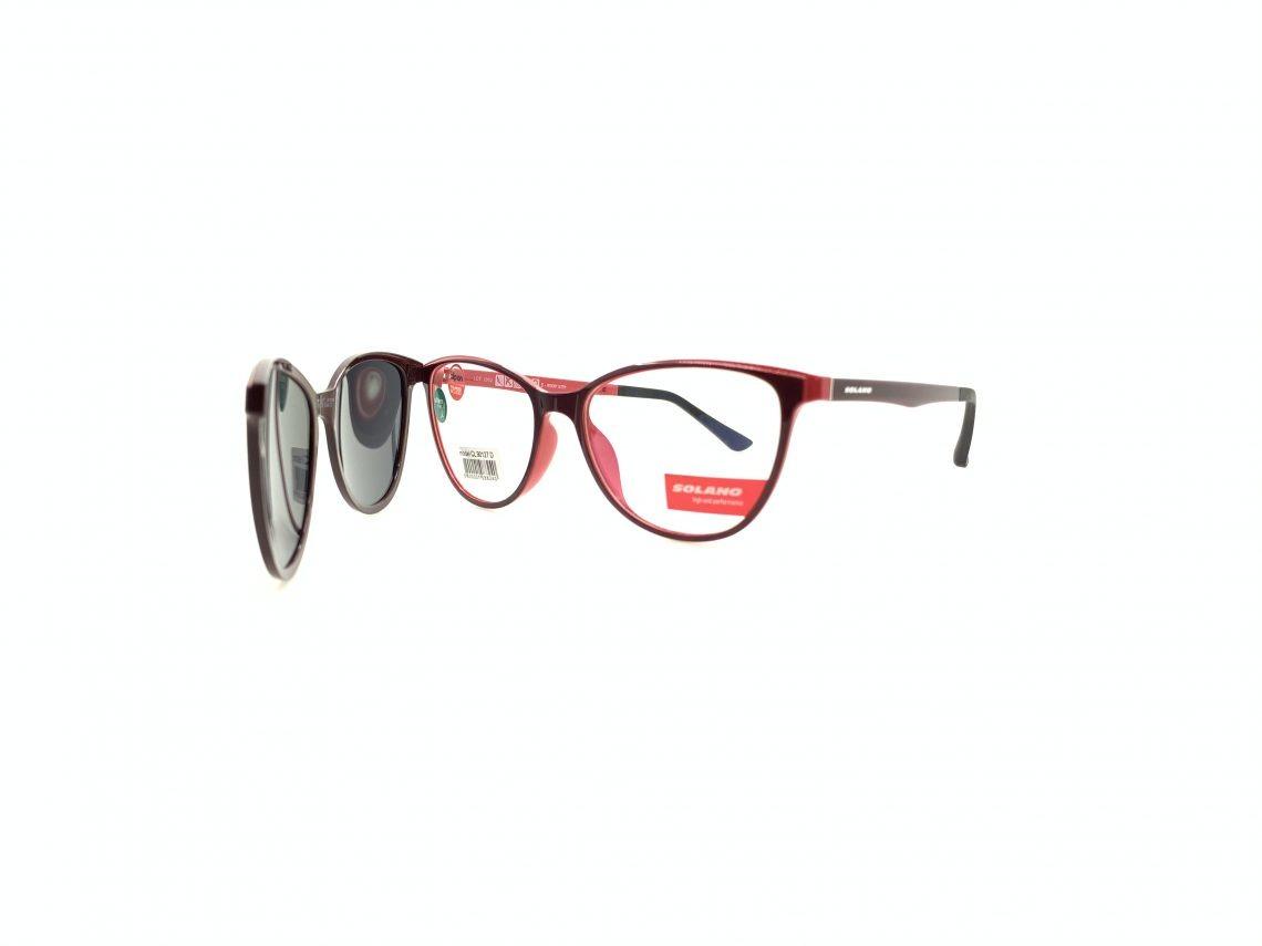 Rama ochelari clip-on Solano CL90127D