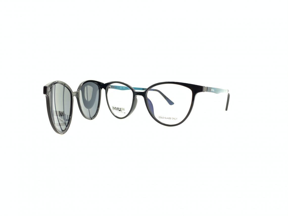 Rama ochelari clip-on INVU G4002B