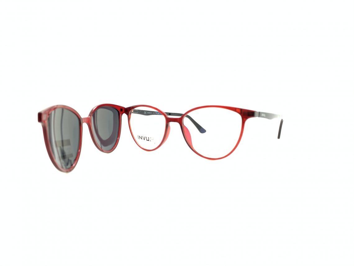 Rama ochelari clip-on INVU G4002A