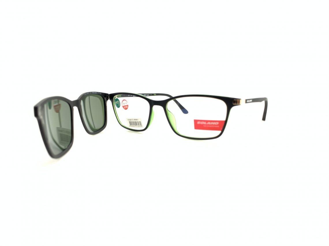 Rama ochelari clip-on Solano CL90065I
