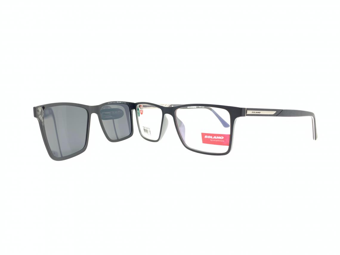 Rama ochelari clip-on Solano CL90117A