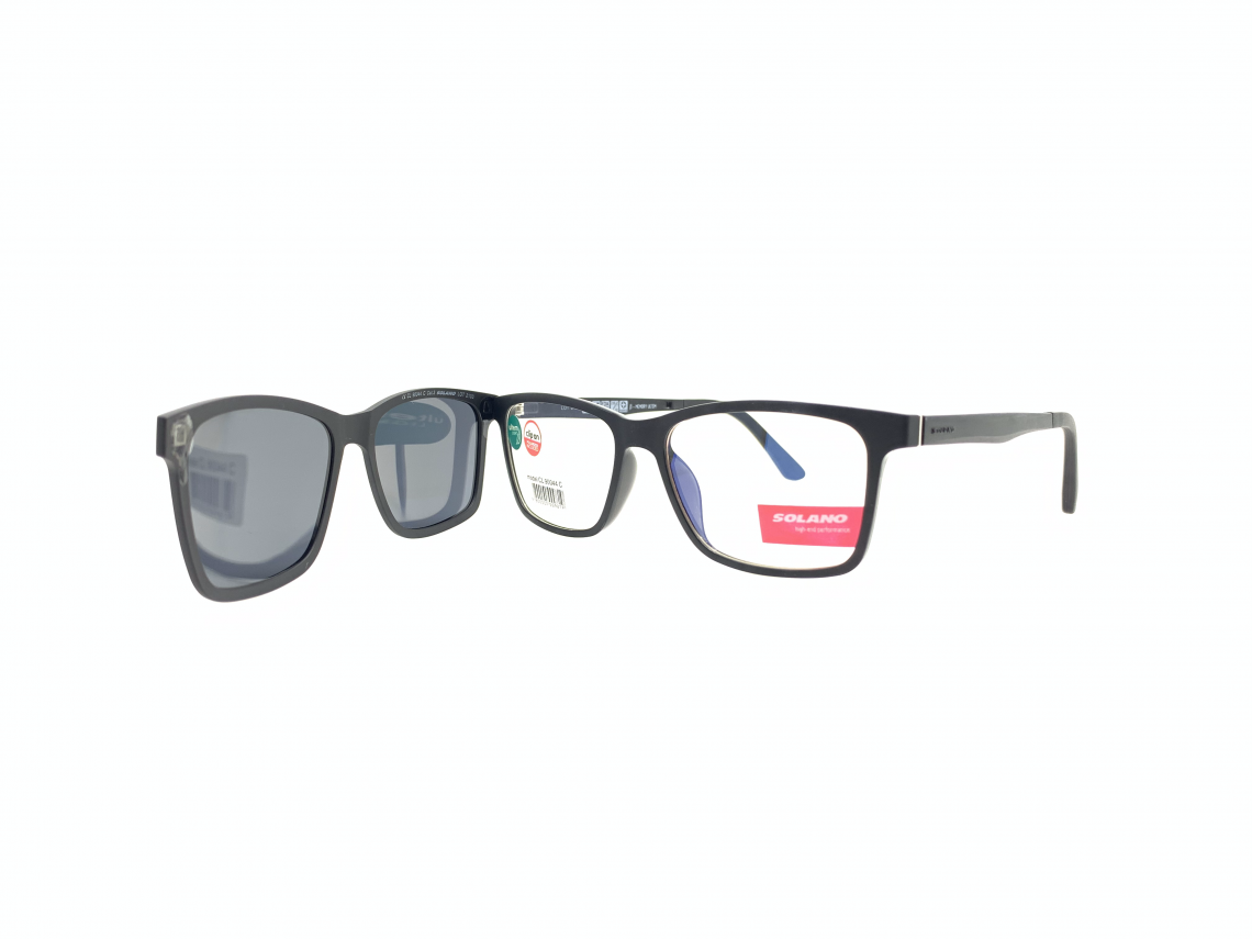 Rama ochelari clip-on Solano CL90044C