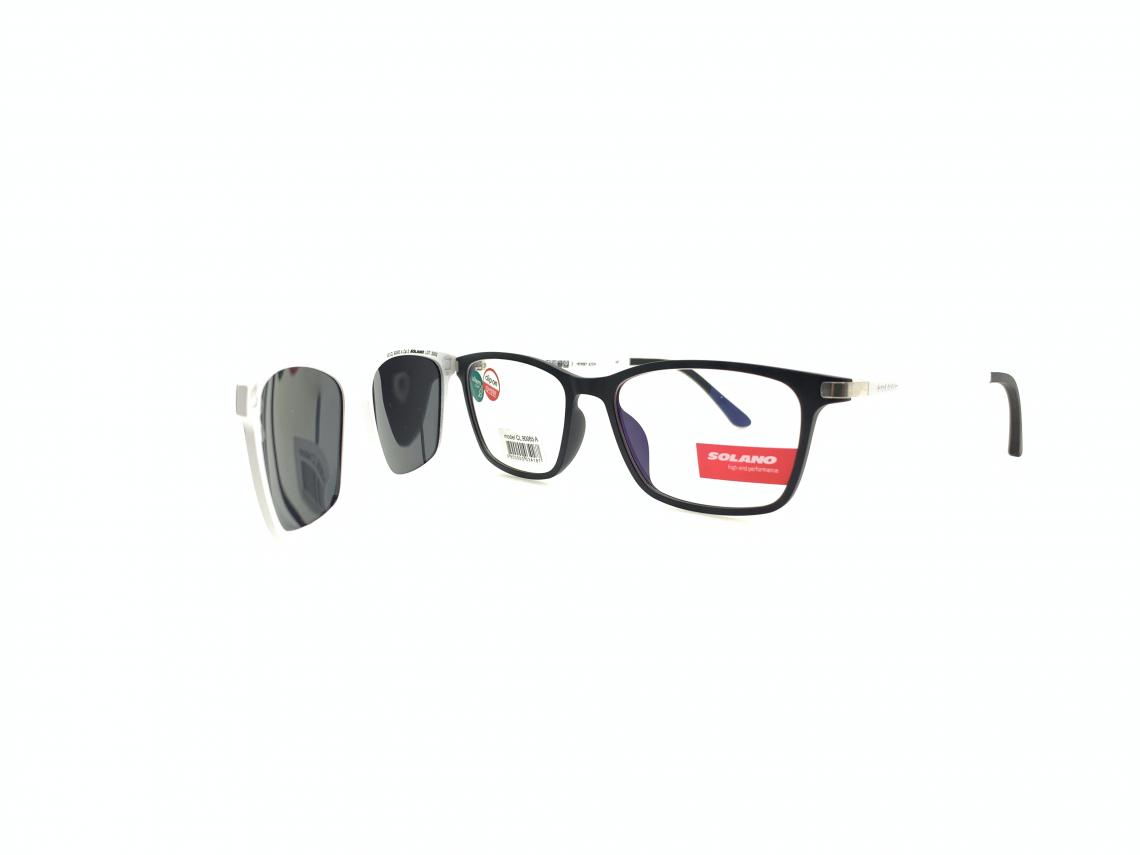 Rama ochelari clip-on Solano CL90065A