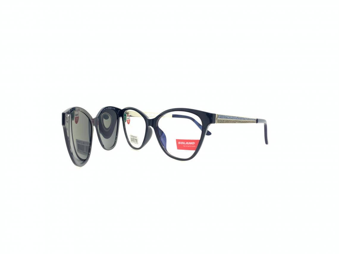Rama ochelari clip-on Solano CL90119C