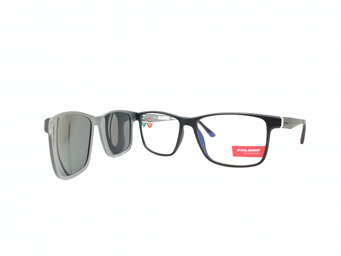 Rama ochelari clip-on Solano CL90100C