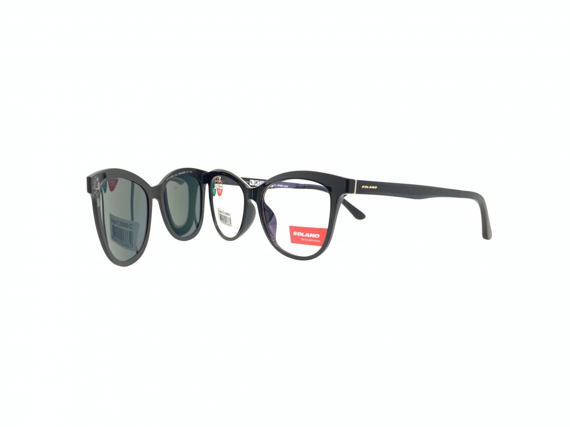 Rama ochelari clip-on Solano CL90099F