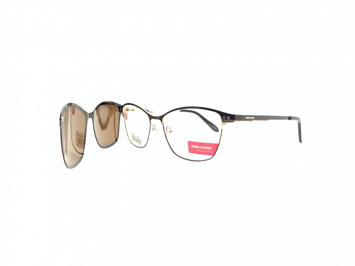 Rama ochelari clip-on Solano CL10141D
