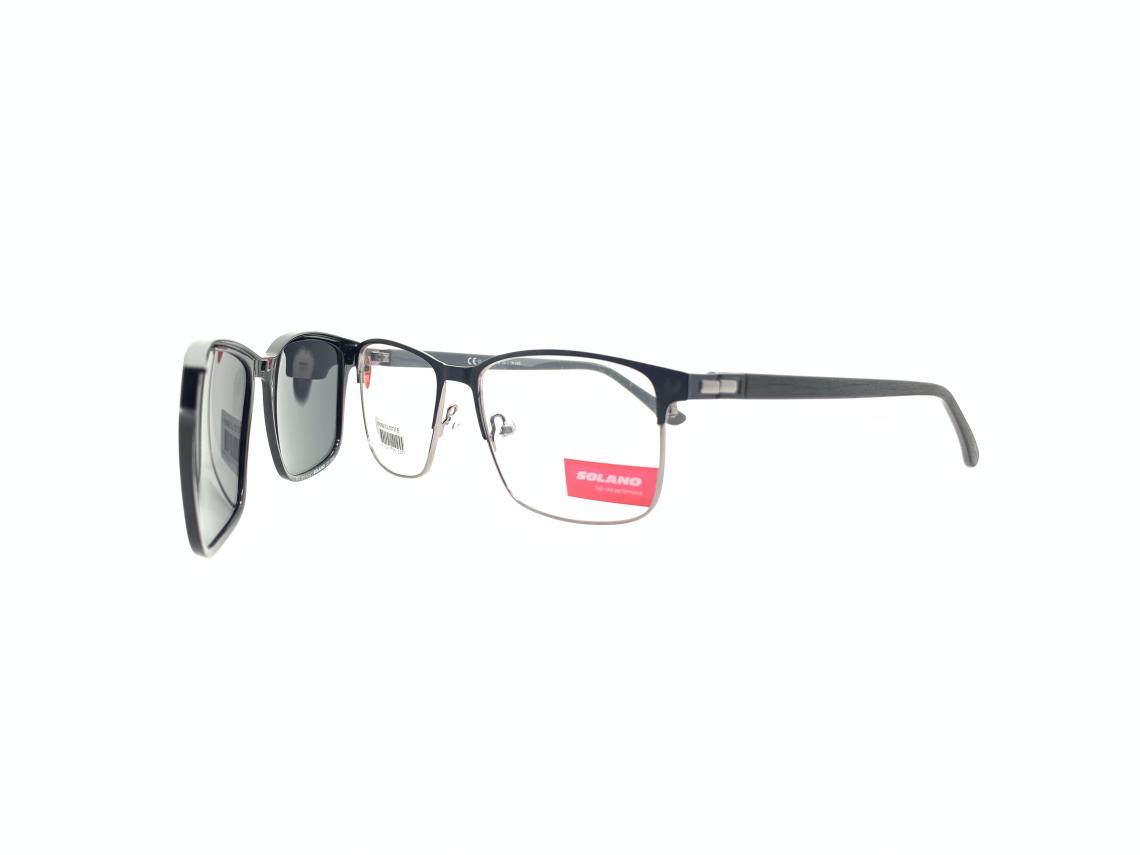 Rama ochelari clip-on Solano CL10137B