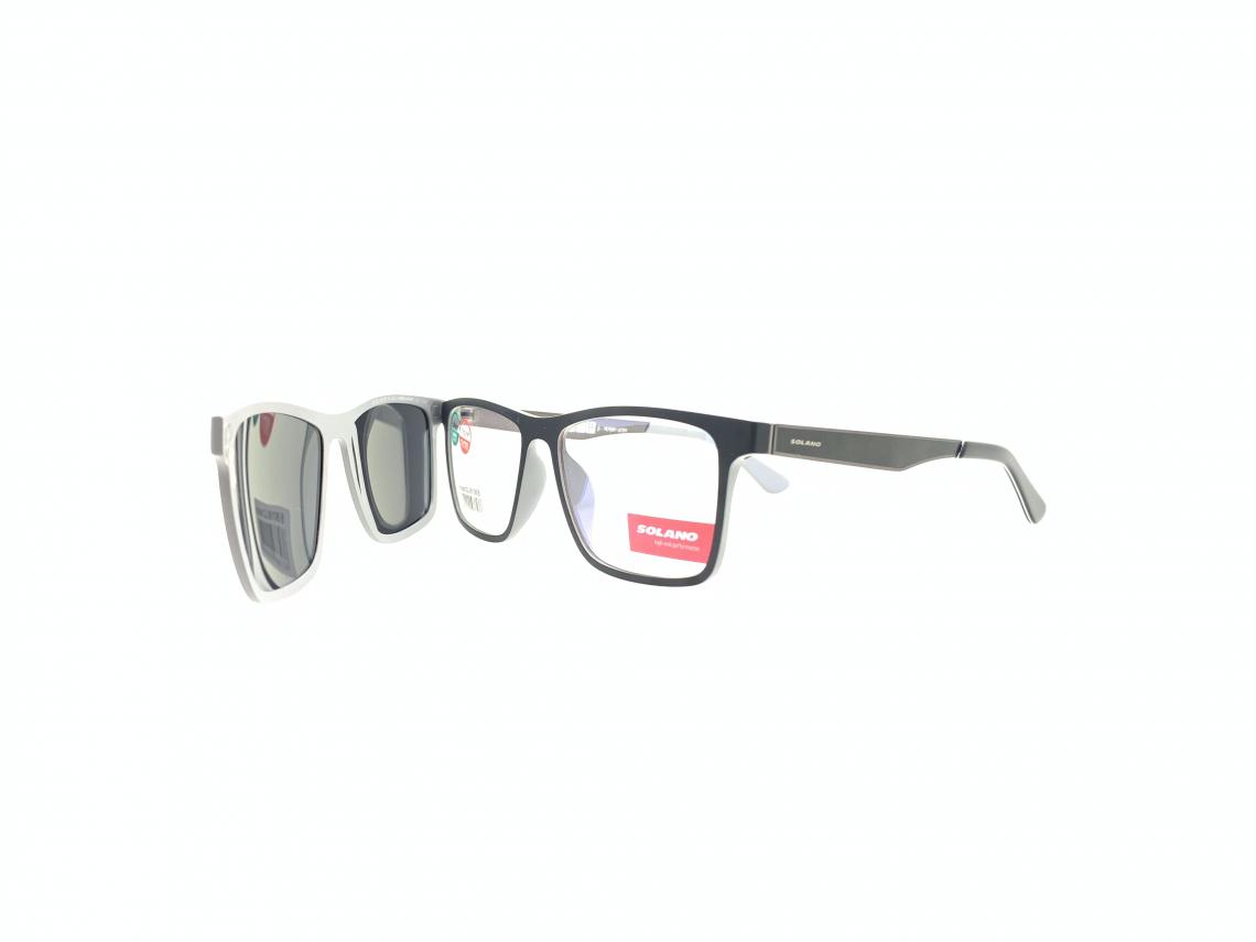 Rama ochelari clip-on Solano CL90106B