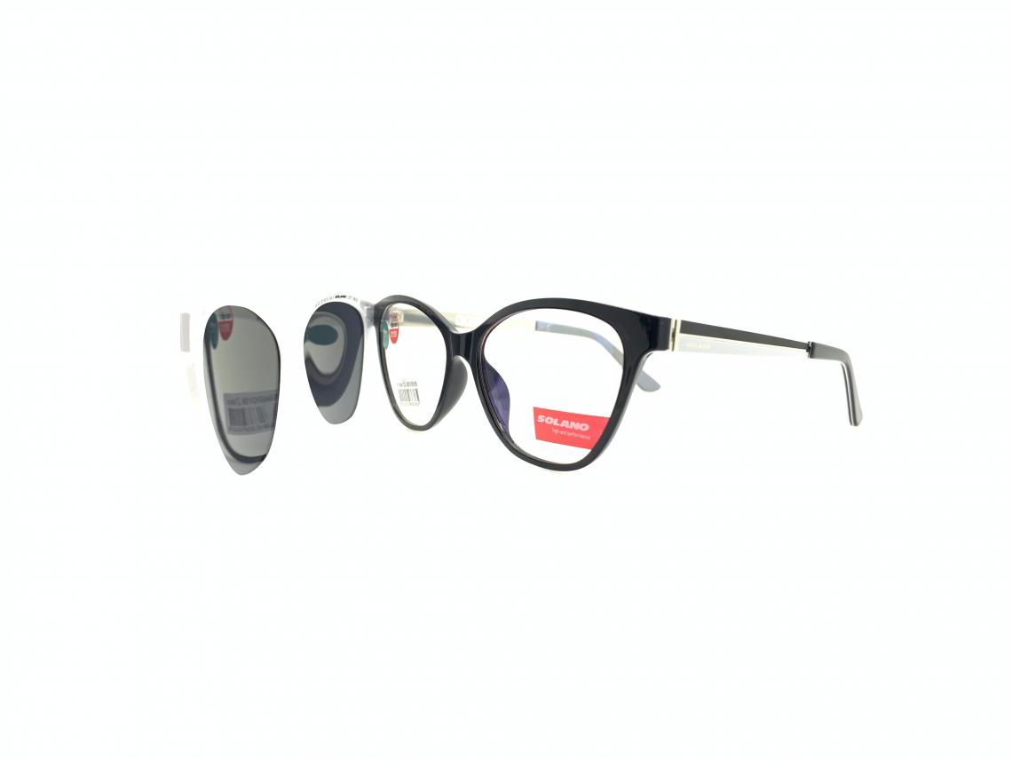 Rama ochelari clip-on Solano CL90109B
