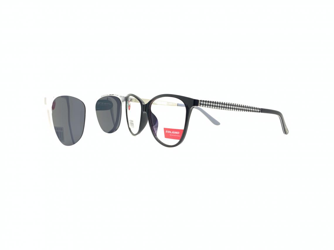 Rama ochelari clip-on Solano CL90110B