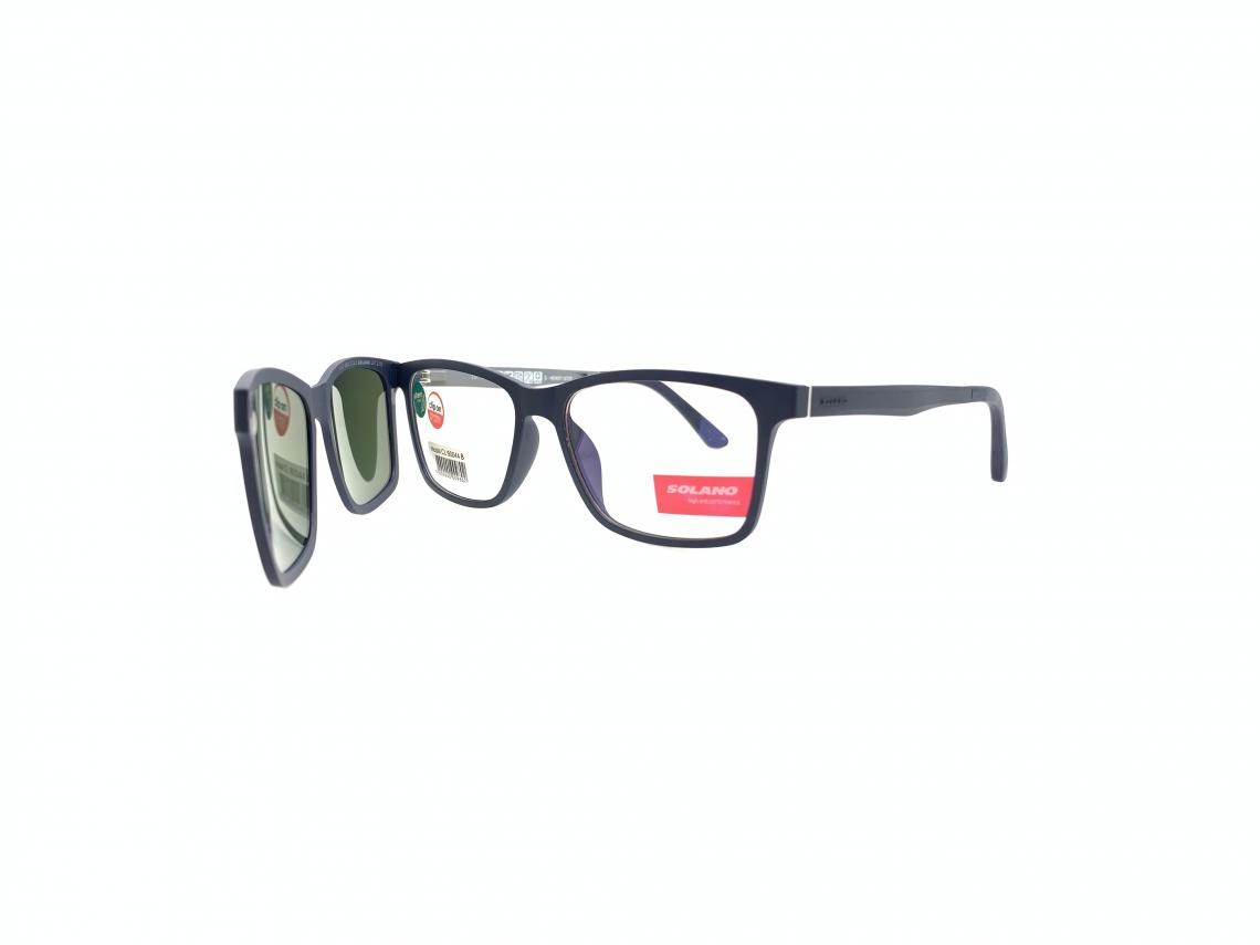 Rama ochelari clip-on Solano CL90044B
