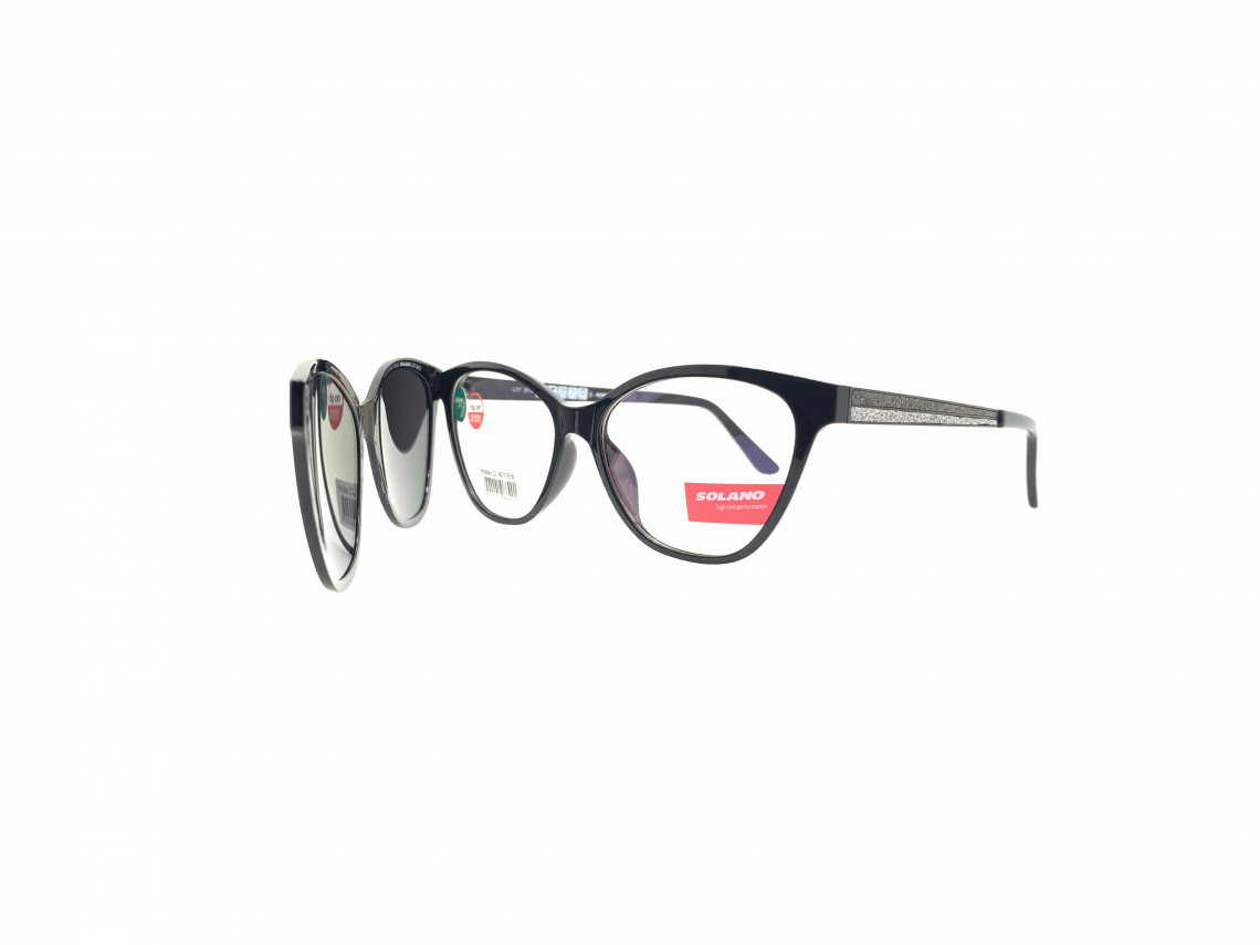 Rama ochelari clip-on Solano CL90119B