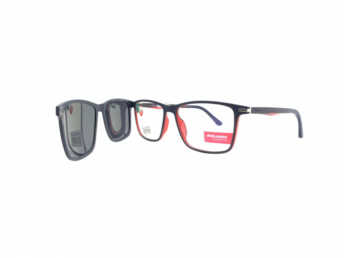 Rama ochelari clip-on Solano CL90070B