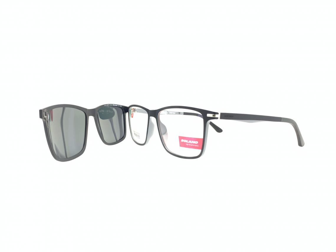 Rama ochelari clip-on Solano CL90070A