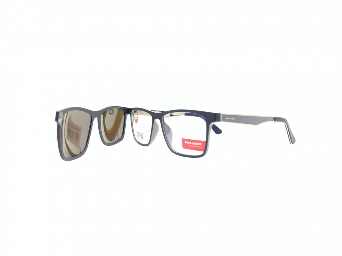 Rama ochelari clip-on Solano CL90106D