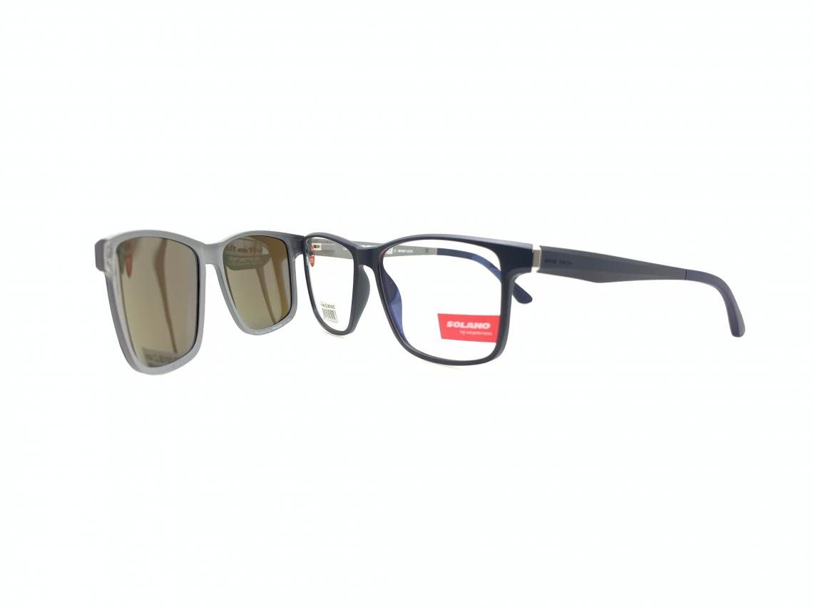 Rama ochelari clip-on Solano CL90100E