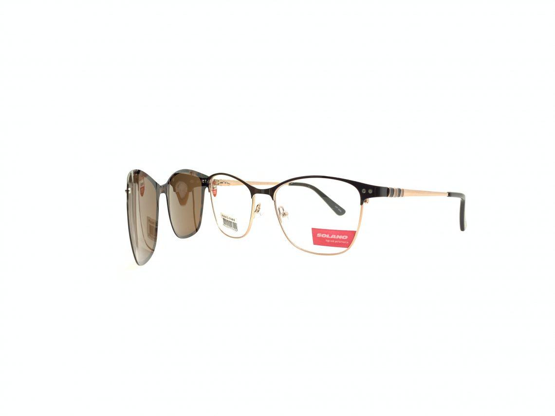 Rama ochelari clip-on Solano CL10146D