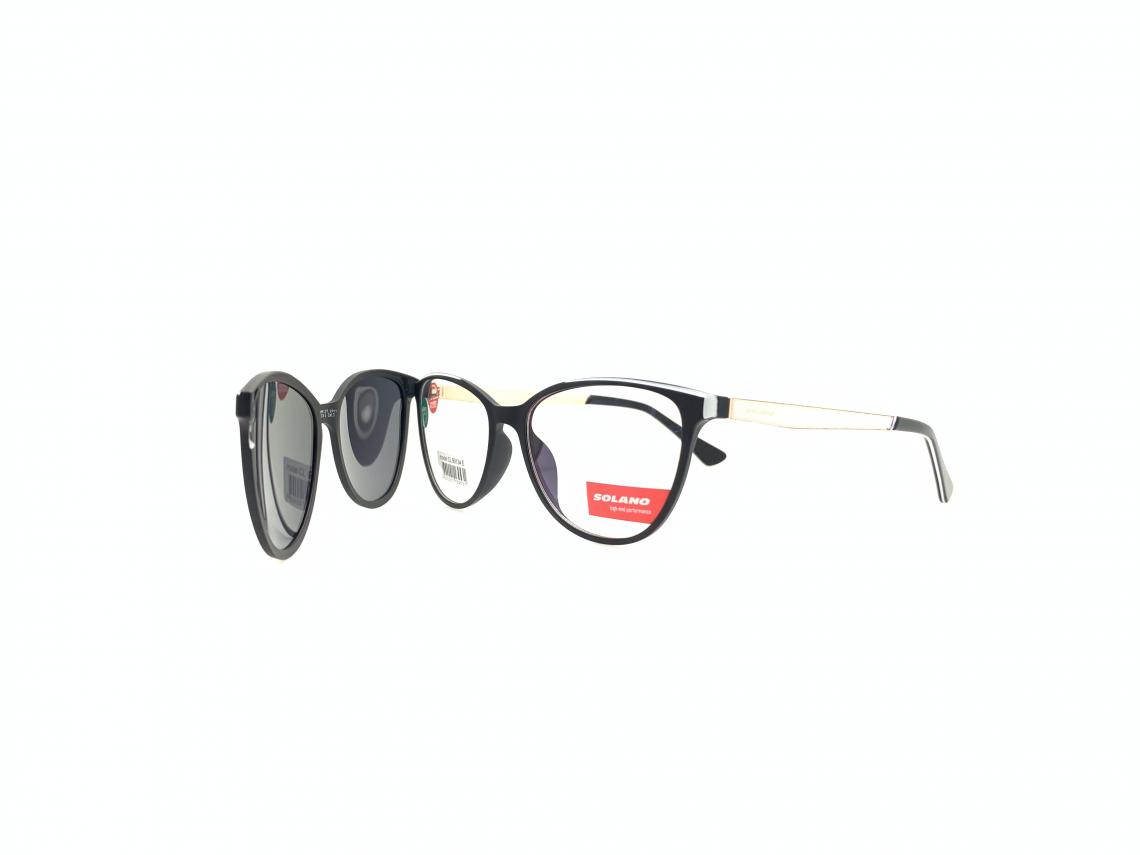 Rama ochelari clip-on Solano CL90125A