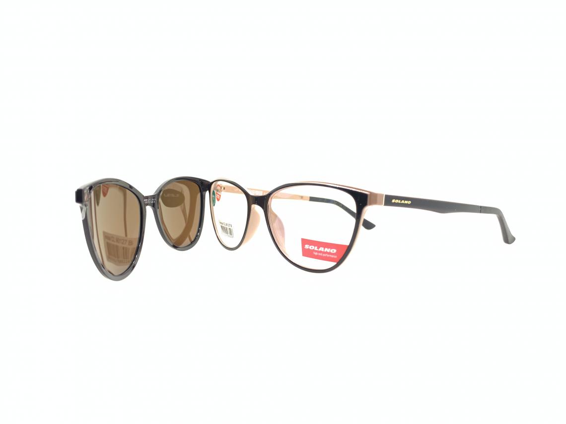 Rama ochelari clip-on Solano CL90127B