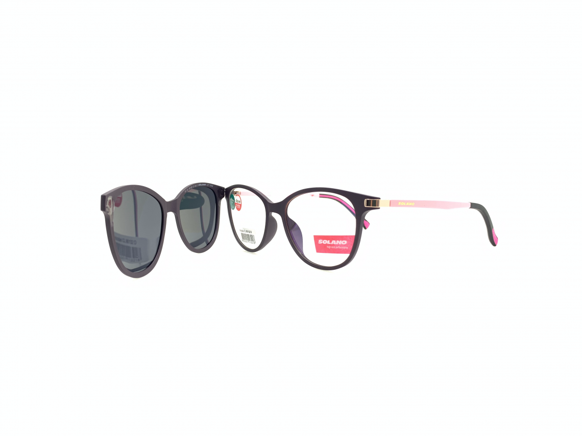 Rama ochelari clip-on Solano CL90132D