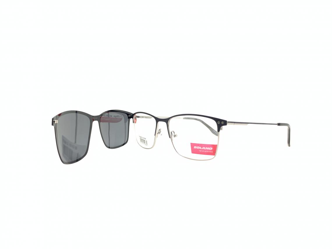Rama ochelari clip-on Solano CL10143B