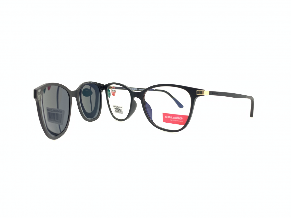 Rama ochelari clip-on Solano CL90064B