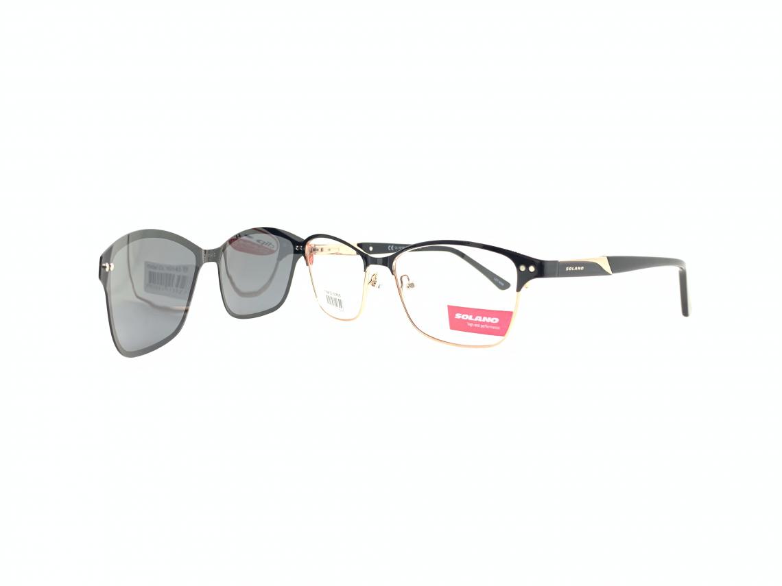 Rama ochelari clip-on Solano CL10145B