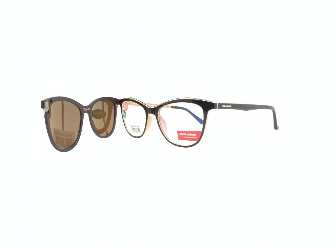 Rama ochelari clip-on Solano CL90125B