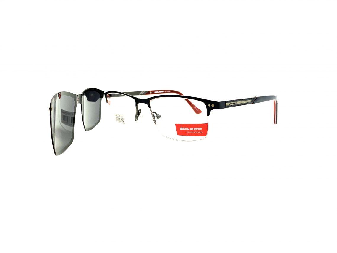 Rama ochelari clip-on Solano CL10117C