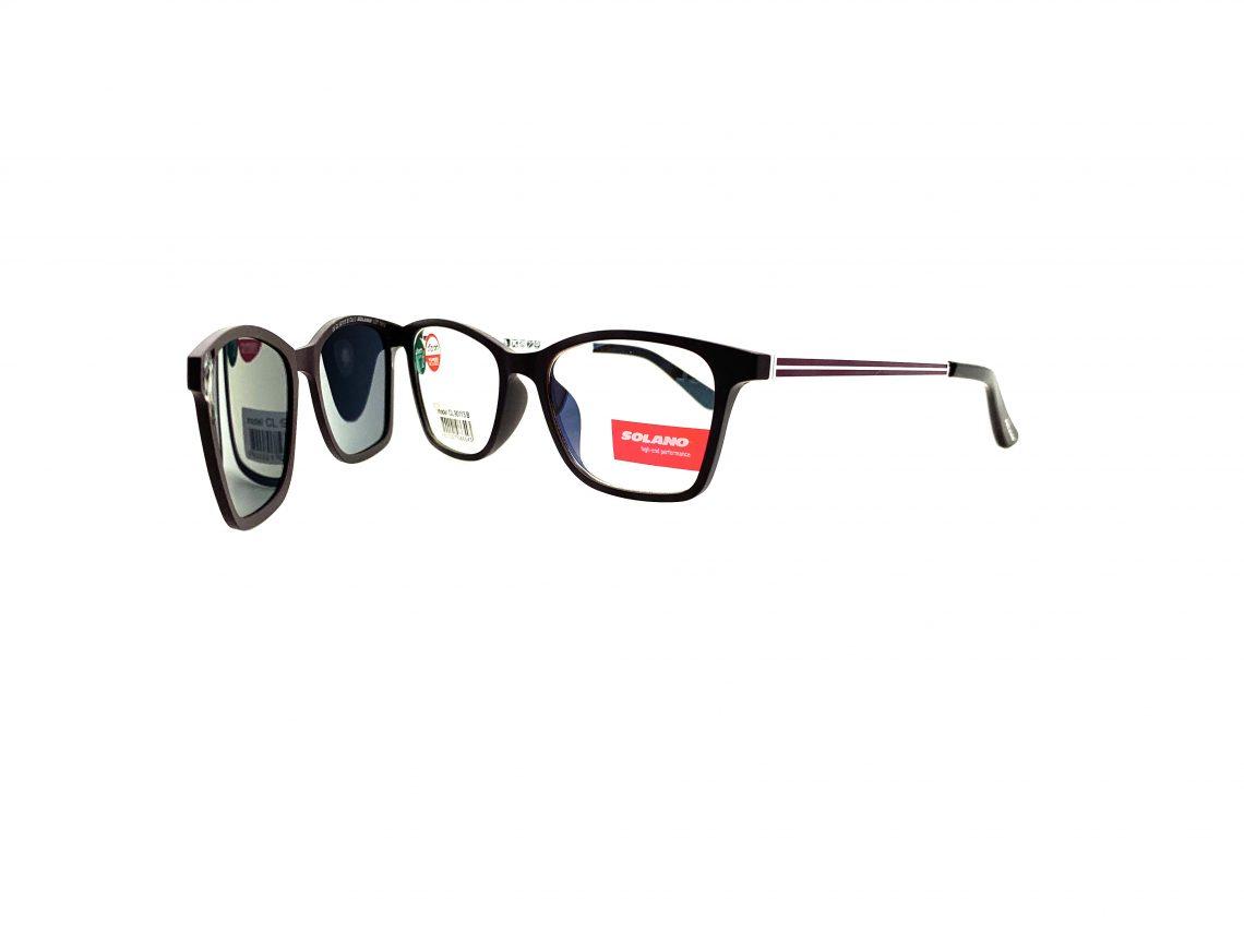 Rama ochelari clip-on Solano CL90113B